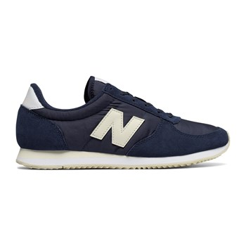 WL220 - Sneakers in pelle - blu scuro