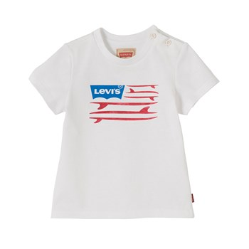 Levi's Kids - Flag - T-shirt manches courtes - blanc
