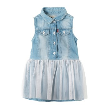Levi's Kids - Bally - Robe en Jean - denim bleu