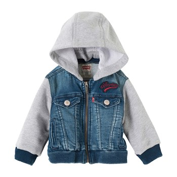 Levi's Kids - Clif2 - Giacca in jeans - blu jeans