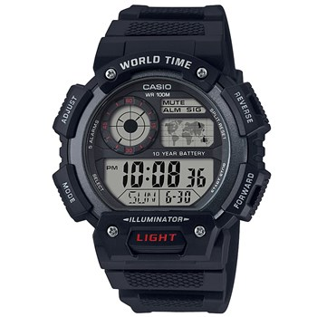 Casio - illluminator - Montre digitale - noir