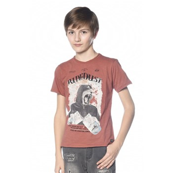 Deeluxe - Streetlion - T-shirt manches courtes - rouille