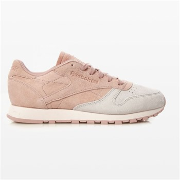 Cl Lthr Nbk - Baskets en cuir - rose