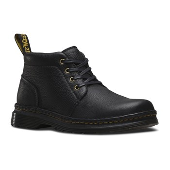 Grizzly - Bottines en cuir - denim noir