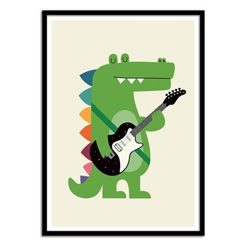Wall Editions - Croco Rock - Affiches - multicolore