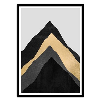 Wall Editions - Four Mountains - Affiches - bleuet