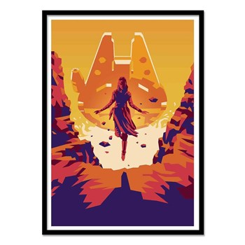 Wall Editions - The last Jedi - Affiches - multicolore