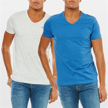 Lot de 2 T-Shirts - bicolore