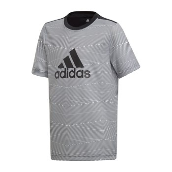 Adidas Performance - T-shirt manches courtes - gris