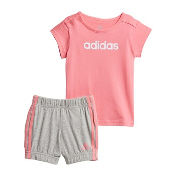 Adidas Performance - Ensemble t-shirt et short - rose