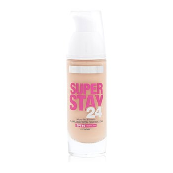 Maybelline - Super Stay 24h - Foundation - elfenbeinfarben