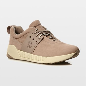 Kiri Up Leather Oxford - Sneakers in pelle - beige