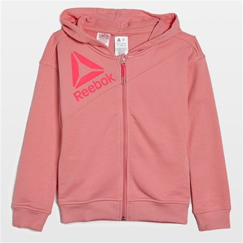 Reebok Performance - Sweat à capuche - rose