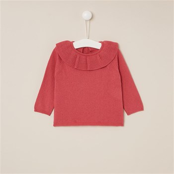 Pull 15 % laine - corail