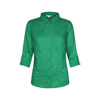 Chemise manches longues - vert