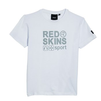 Redskins - Face - Camiseta de deporte - blanco