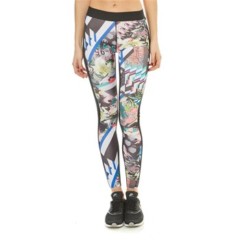 Reebok Performance - Legging de sport imprimé - multicolore
