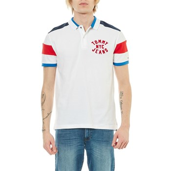 Tommy Jeans - Polo manches courtes - blanc