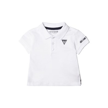 Guess Kids - Polo détail logo - blanc