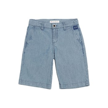 Guess Kids - Short micro motif - bleu