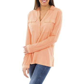 McGregor - Chemise manches longues - corail