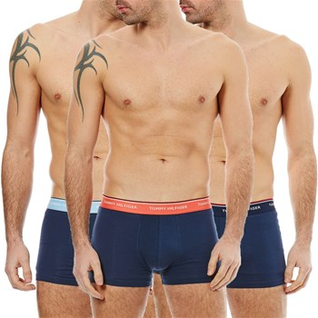 Tommy Hilfiger Underwear Men - Lot de 3 Boxers - bleu