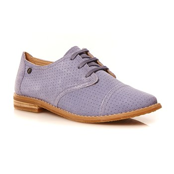 Hush Puppies - Aiden - Leren derbies - blauw