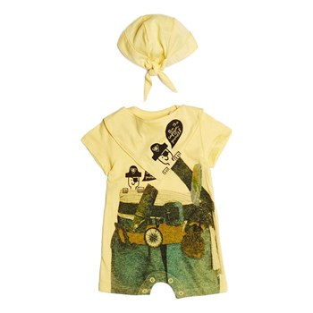 Guess Kids - Ensemble pirates 3 pièces - jaune
