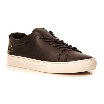 L.12.12 UNLINED 118 1 - Sneakers en cuir - noir