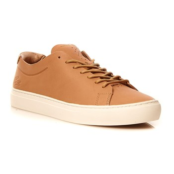 L.12.12 UNLINED 118 1 - Sneakers en cuir - beige