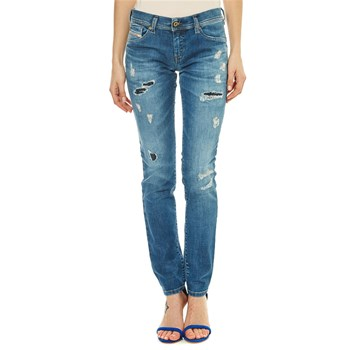 Francy - Jean recto - denim azul