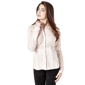Guess - Chemise manches longues - rose clair