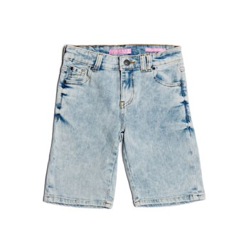 Short super skinny en jean - denim bleu