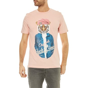 Jack & Jones - Poshu - Kurzärmeliges T-Shirt - rosa