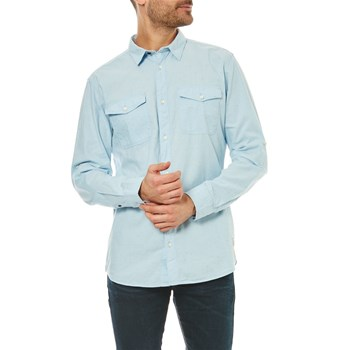 Jack & Jones - Screen - Camisa de manga larga - azul