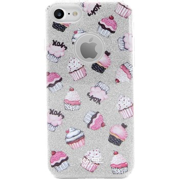 The Kase - Cupcakes - Coque - argent