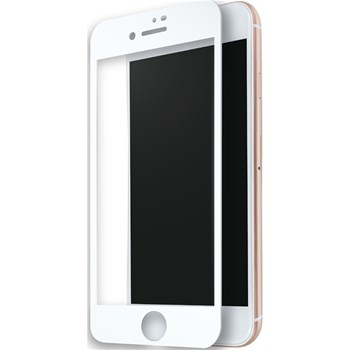 Protection d'écran compatible iPhone 7+/8+ - blanc