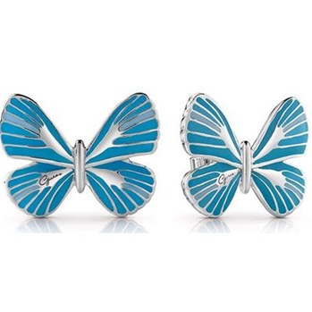 Guess - Tropical Dream - Boucles d'oreille puces - bleu