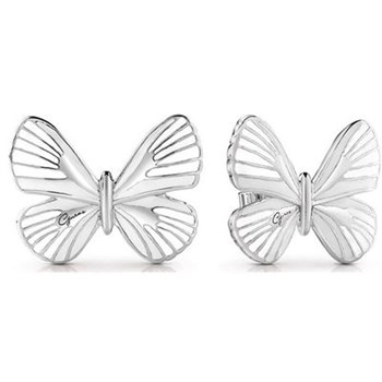 Guess - Tropical Dream - Boucles d'oreille puces - argent