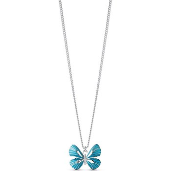 Guess - Tropical Dream - Collier pendentif - bleu
