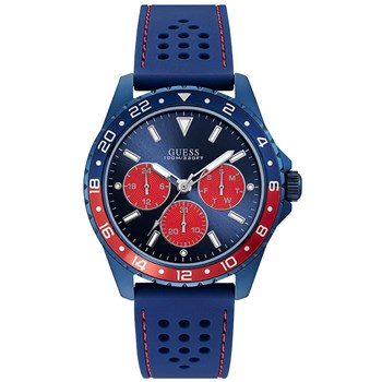 Guess - Montre chronographe - bleu