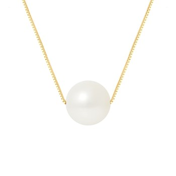 Pearl Addict - Collar Cadena - blanco