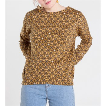 Sweat-shirt - ocre