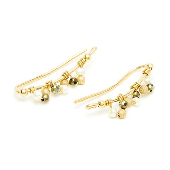 YAY You Are Young - Frida - Boucles d'oreilles cuff - doré