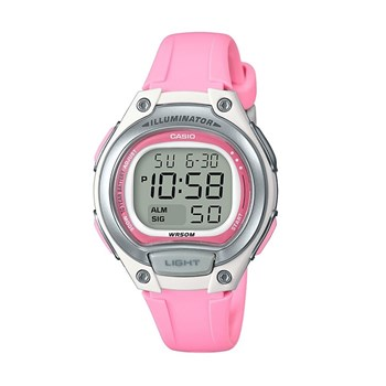 Montre digitale - rose