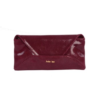 Kate Lee - XL - Pochette en cuir - bordeaux