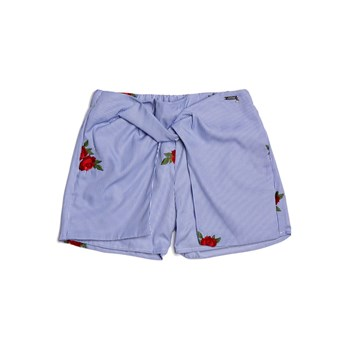 Guess Kids - Short brodée - bleu