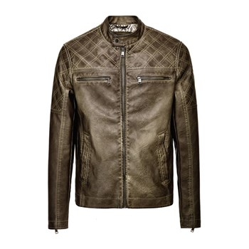 Guess - Veste biker - marron