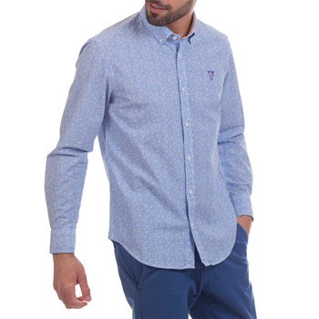 Camberabero - Chemise manches longues - bleu