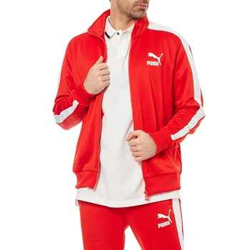Puma - T7 Track - Sweat-shirt - rouge